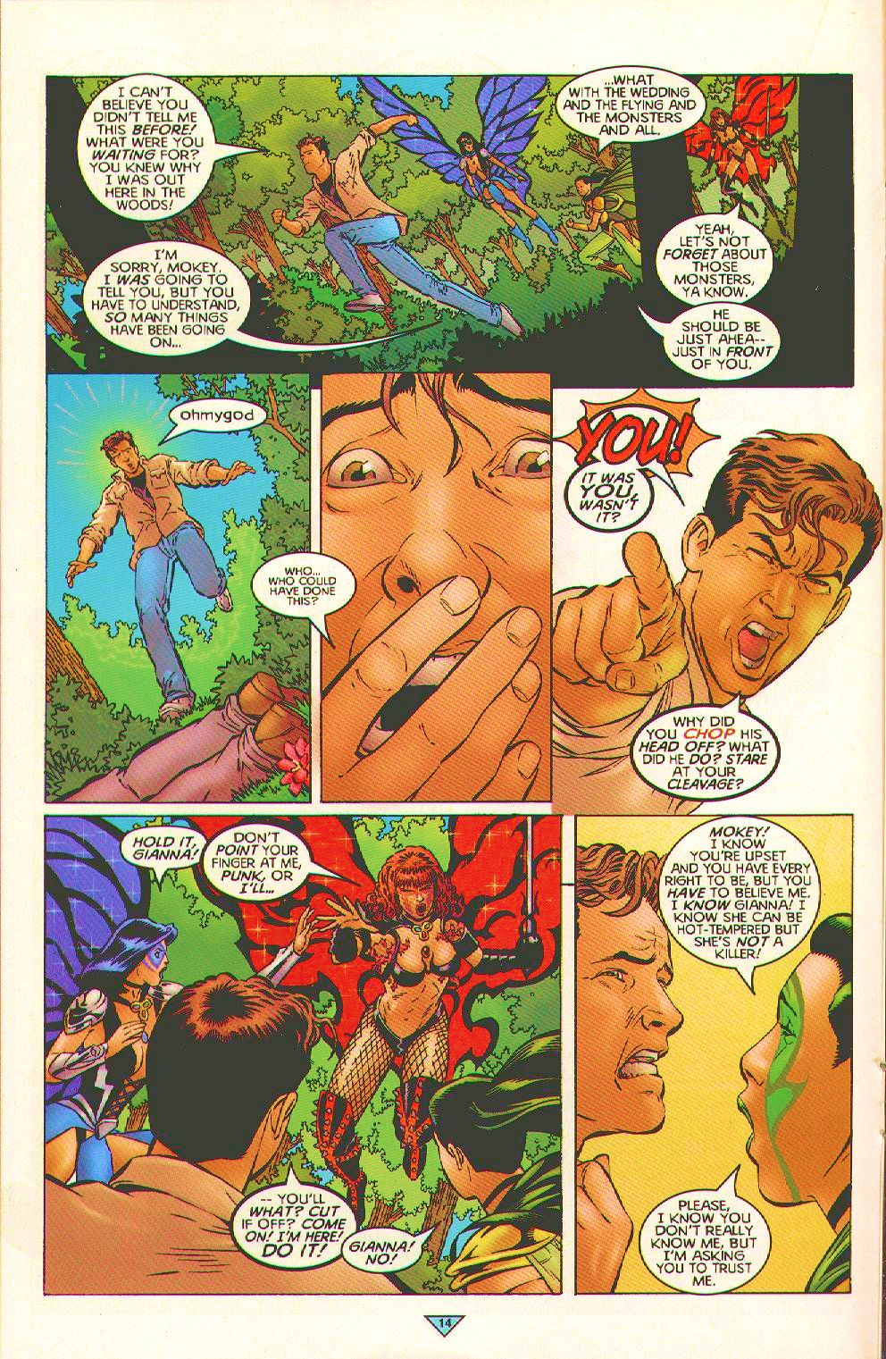 Read online Trinity Angels comic -  Issue #3 - 12