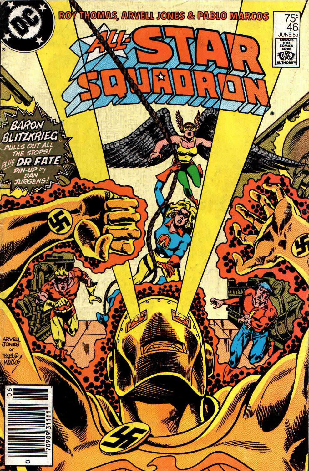Read online All-Star Squadron comic -  Issue #46 - 1