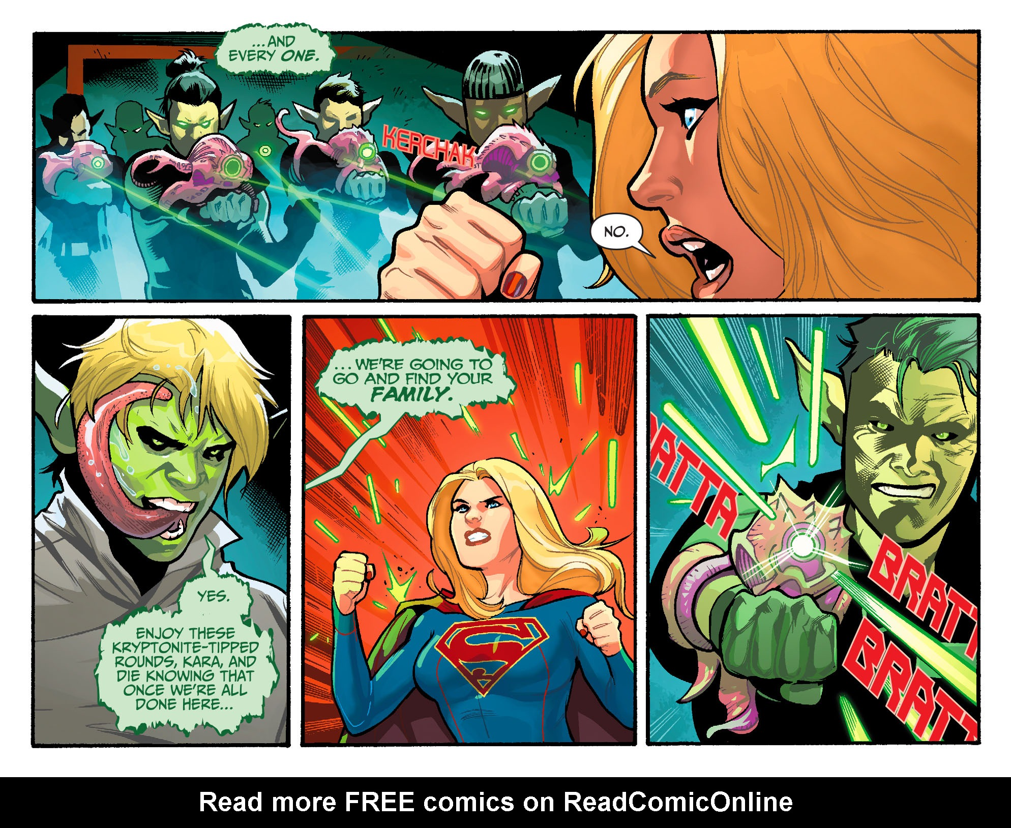 Read online Adventures of Supergirl comic -  Issue #6 - 10