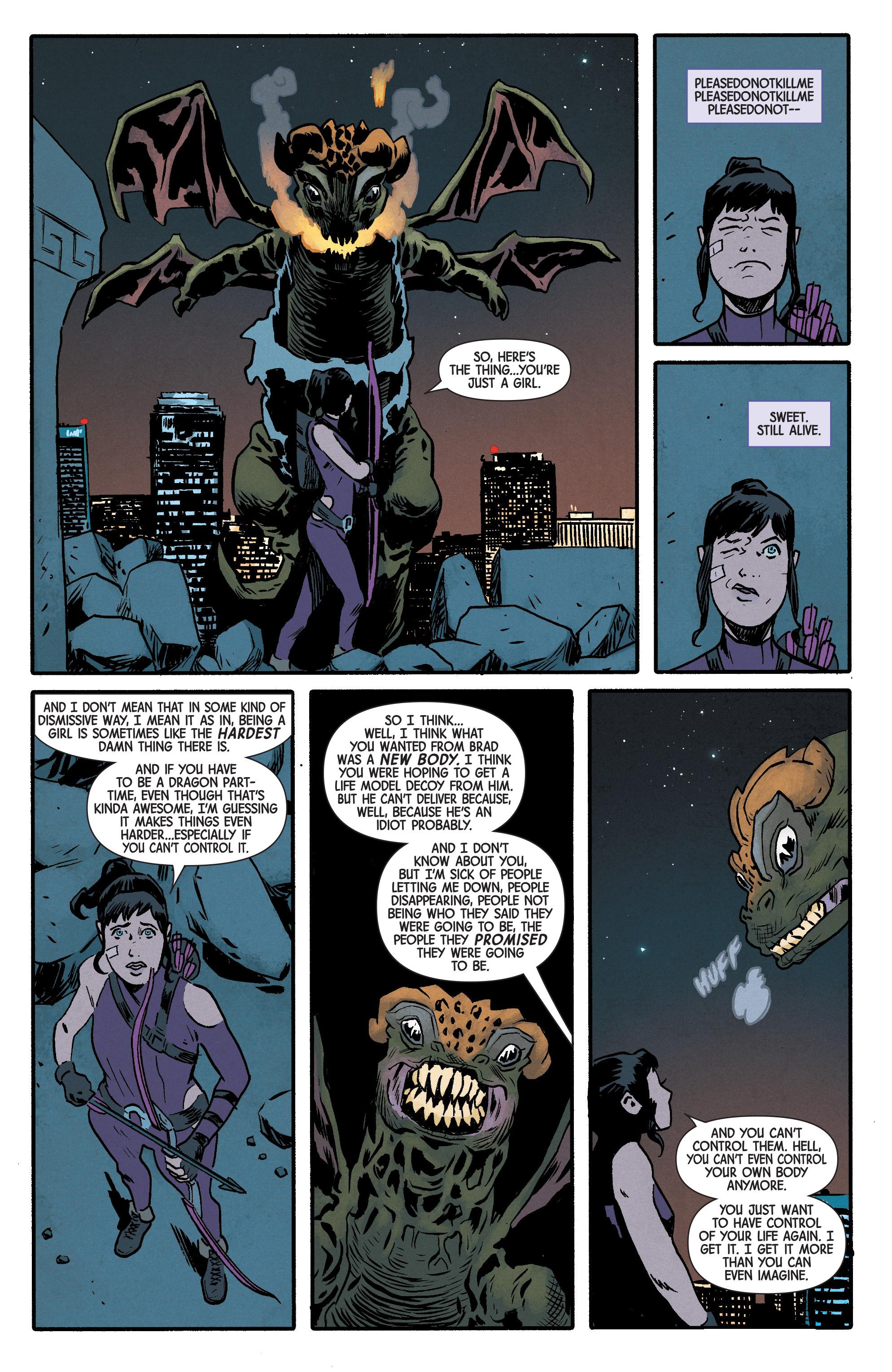 Read online Hawkeye (2016) comic -  Issue #6 - 17