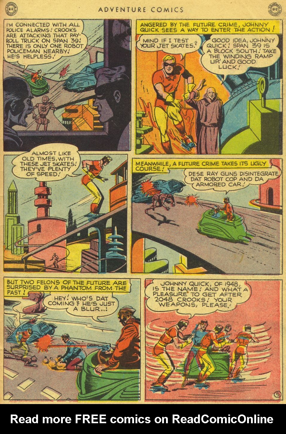 Read online Adventure Comics (1938) comic -  Issue #134 - 45