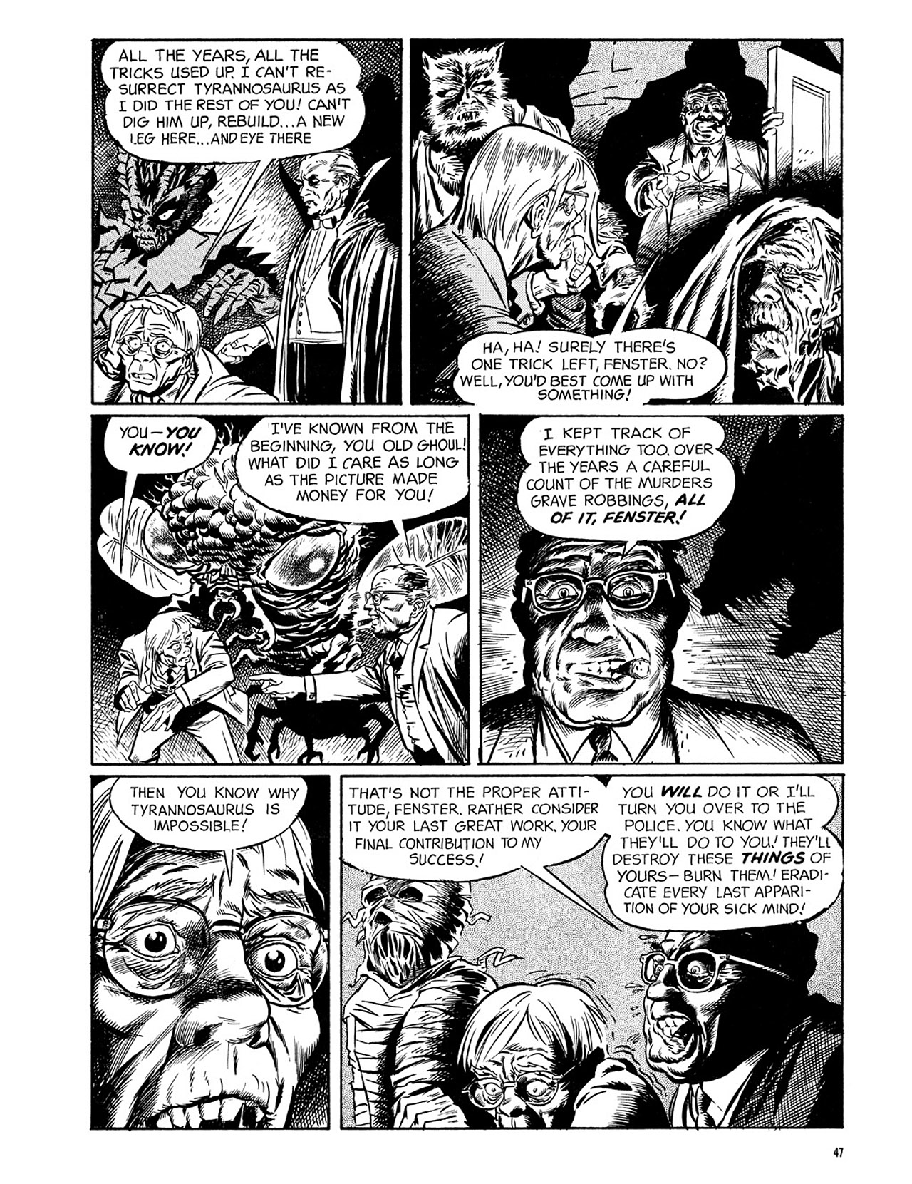 Read online Eerie Archives comic -  Issue # TPB 3 - 48