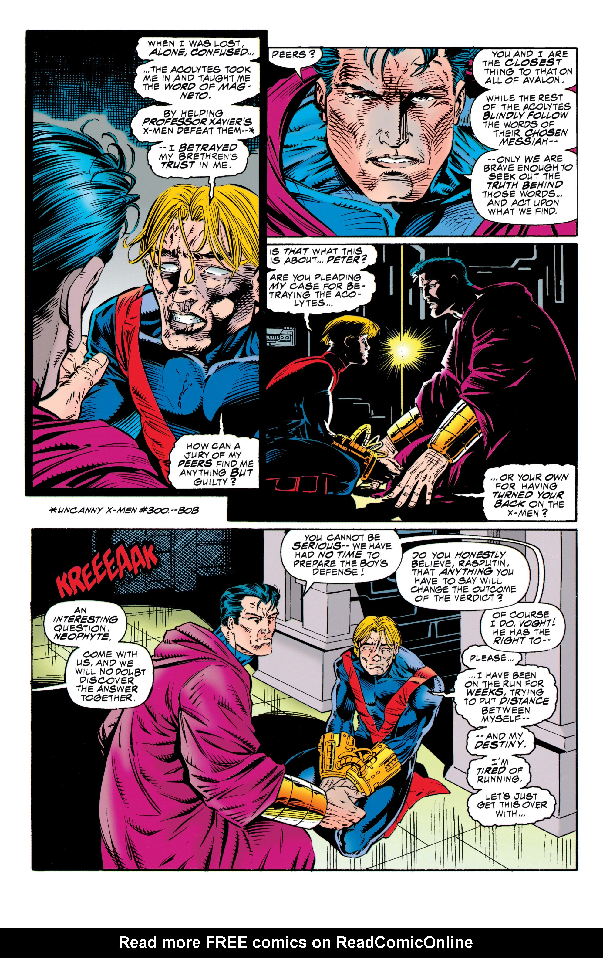 Read online Uncanny X-Men (1963) comic -  Issue #315 - 4