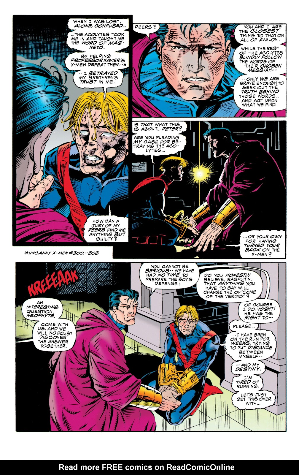 Uncanny X-Men (1963) issue 315 - Page 4