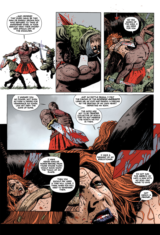 Read online Aquila comic -  Issue #2 - 21
