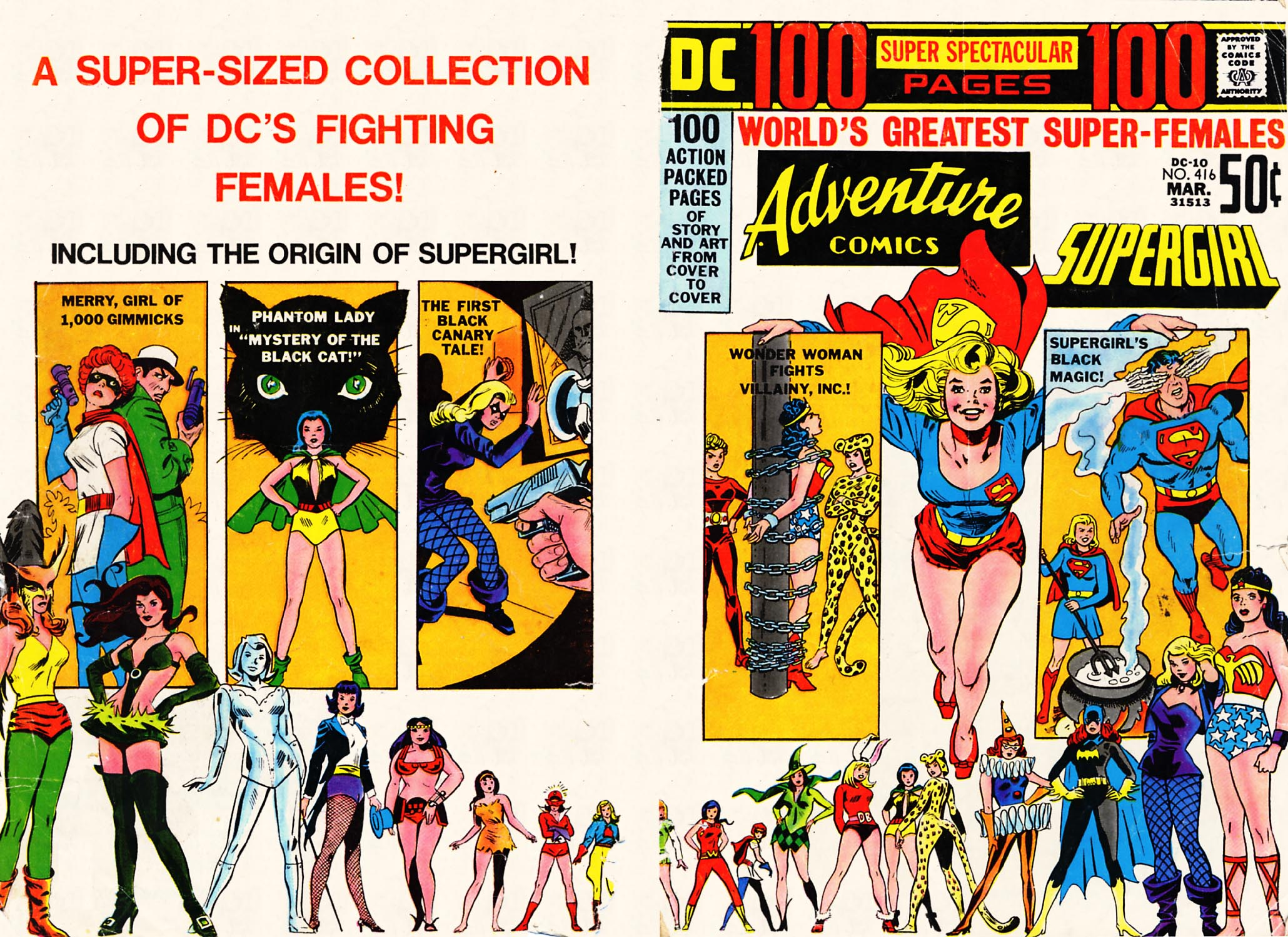 Read online Adventure Comics (1938) comic -  Issue #416 - 1