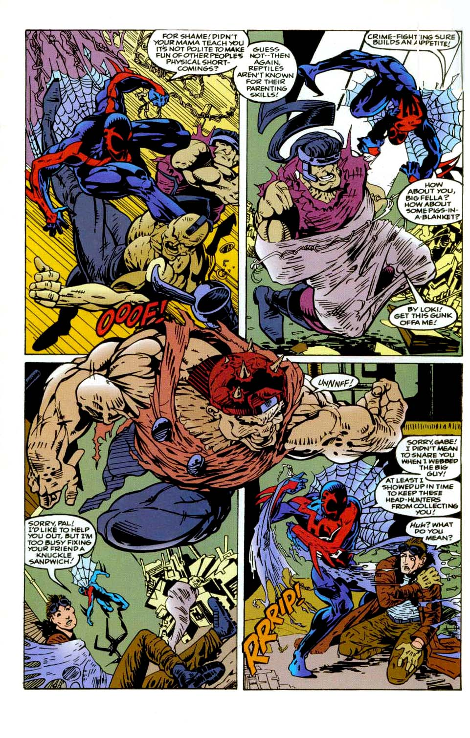 Read online 2099 Unlimited comic -  Issue #9 - 14
