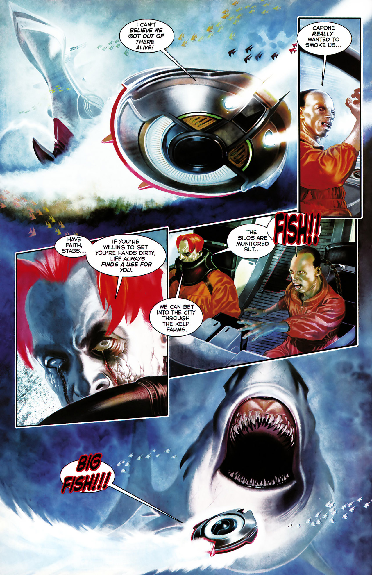 Read online Shark-Man comic -  Issue #1 - 4