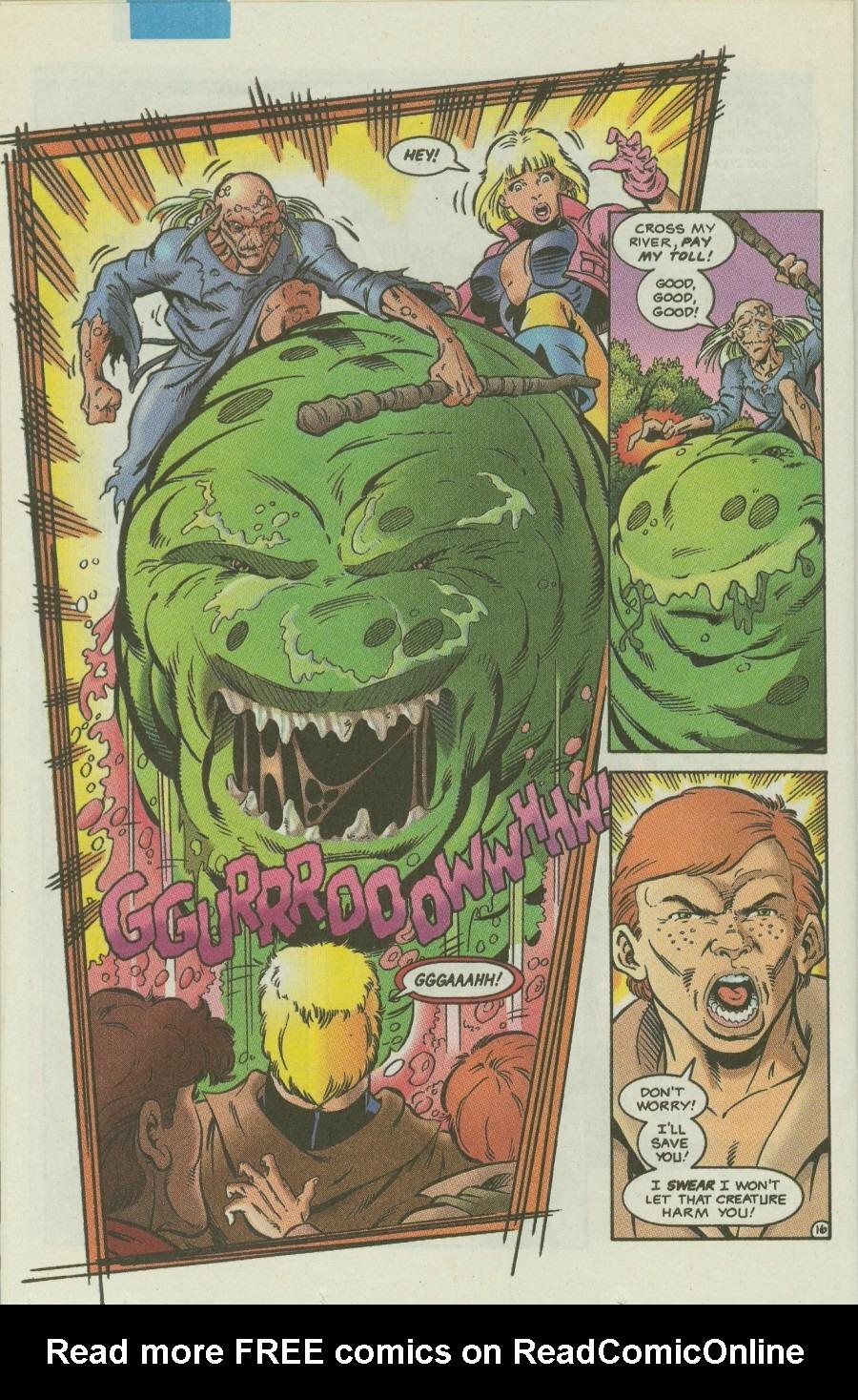 Read online Ex-Mutants comic -  Issue #4 - 19