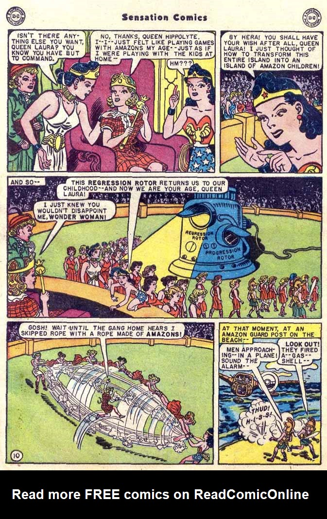 Read online Sensation (Mystery) Comics comic -  Issue #89 - 12