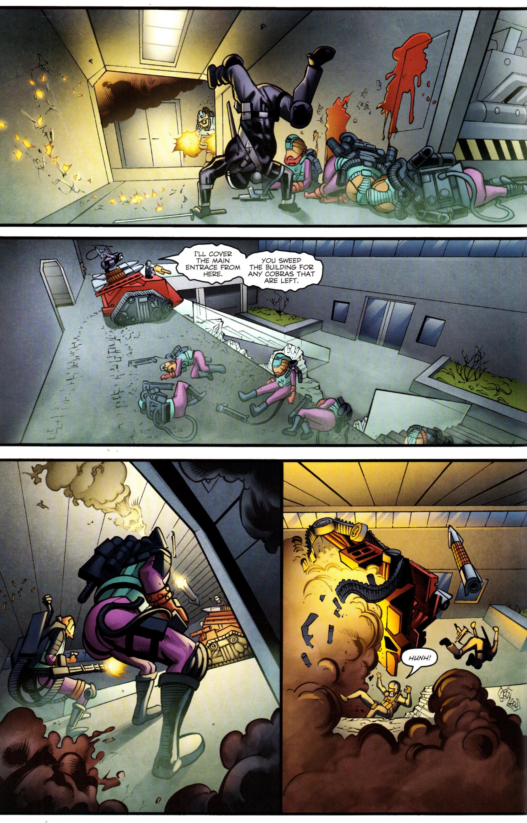 Read online G.I. Joe: Snake Eyes comic -  Issue #8 - 9
