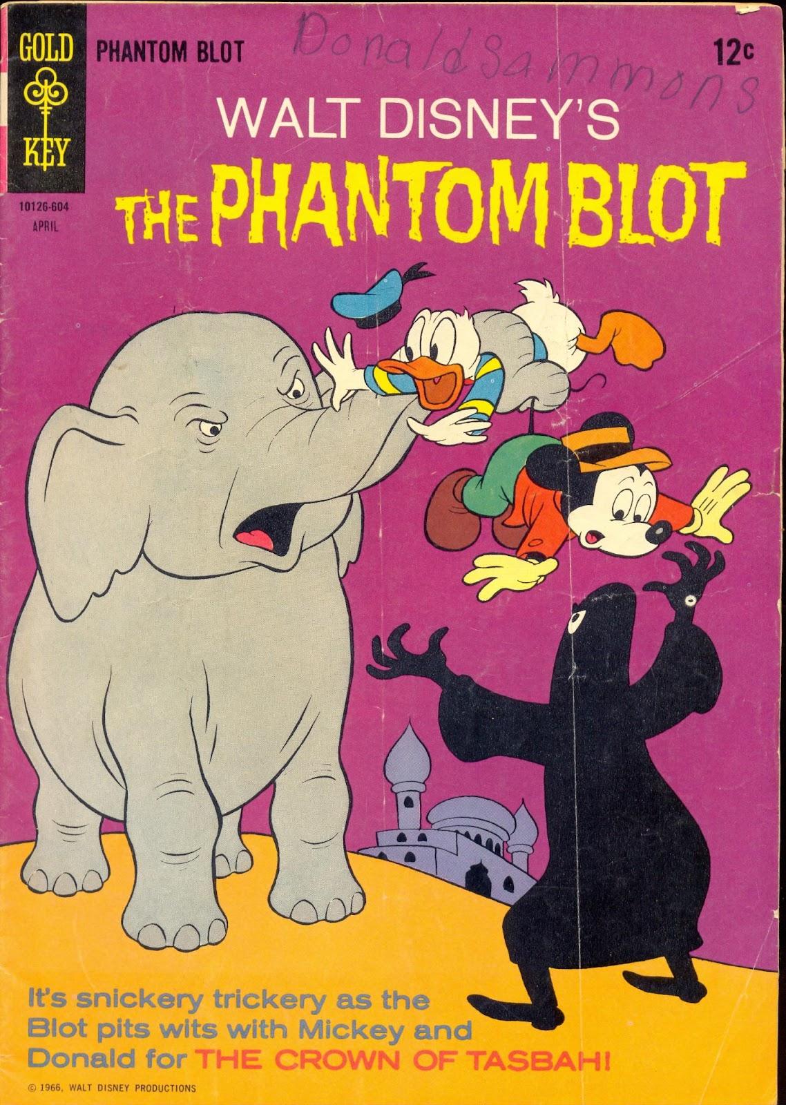 Walt Disneys The Phantom Blot 5 Page 1