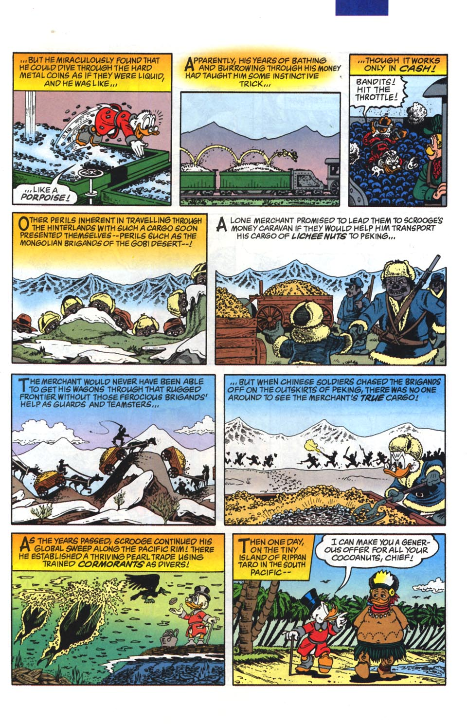 Read online Uncle Scrooge (1953) comic -  Issue #295 - 20