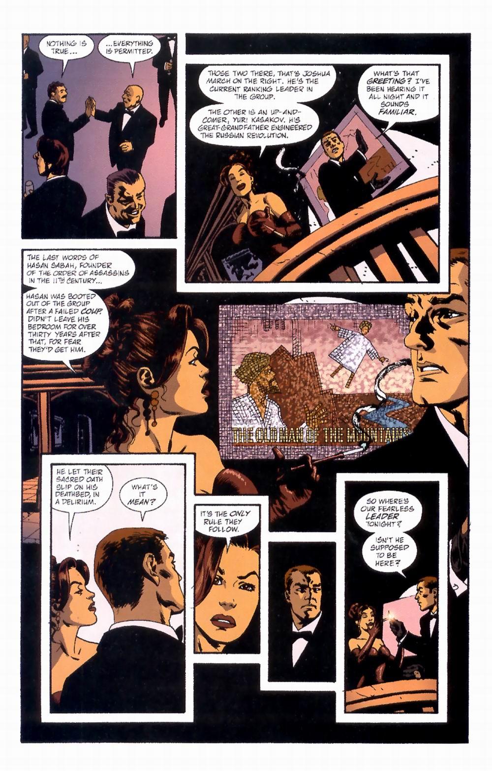 Read online Sleeper comic -  Issue #4 - 9