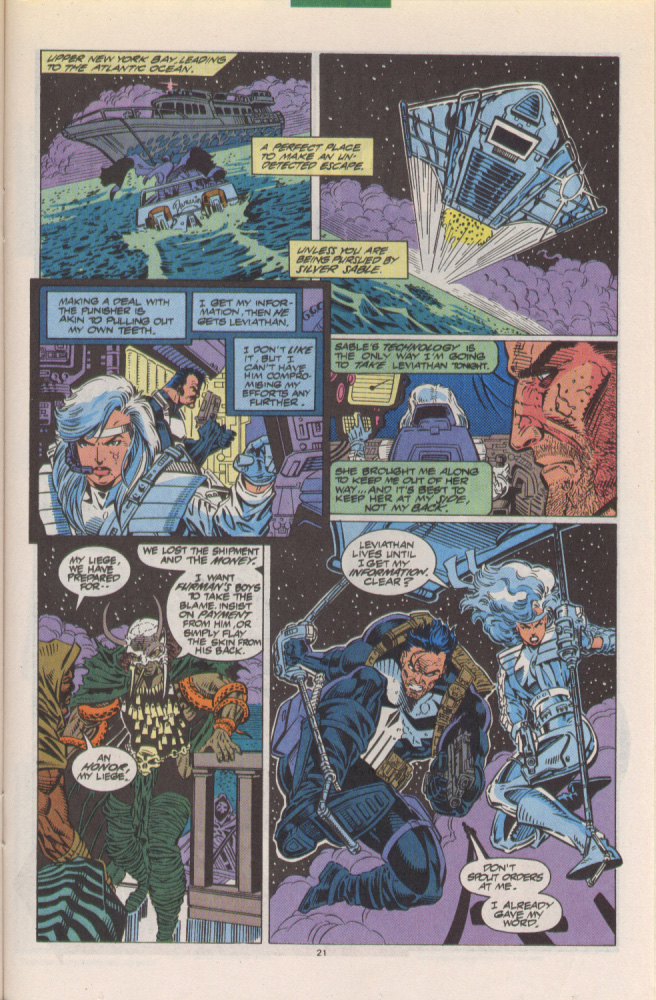 Read online Silver Sable and the Wild Pack comic -  Issue #10 - 18