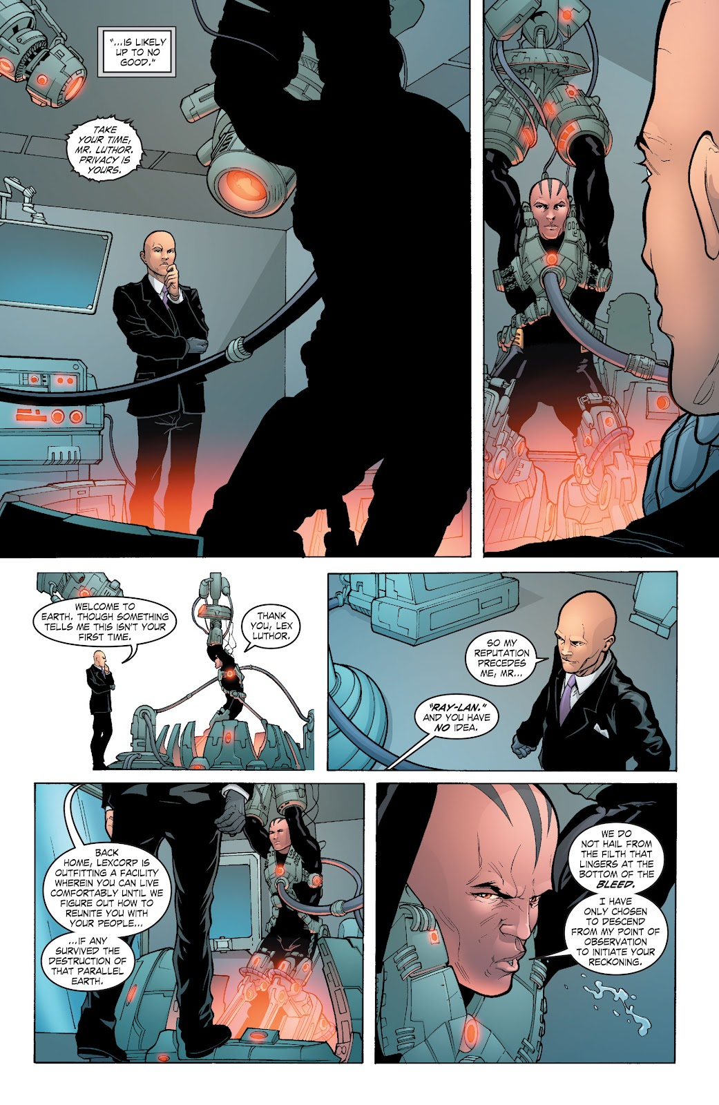 Read online Smallville Season 11 [II] comic -  Issue # TPB 6 - 97