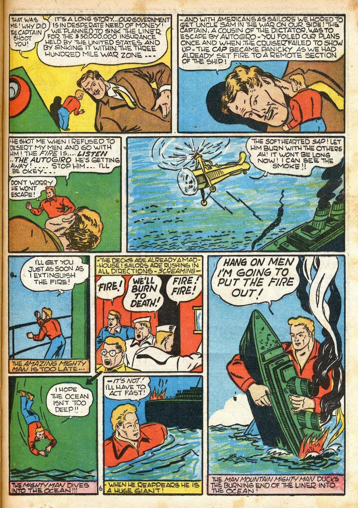 Read online Amazing Man Comics comic -  Issue #16 - 41
