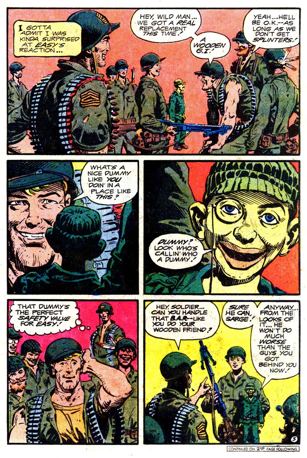 Read online Sgt. Rock comic -  Issue #349 - 5