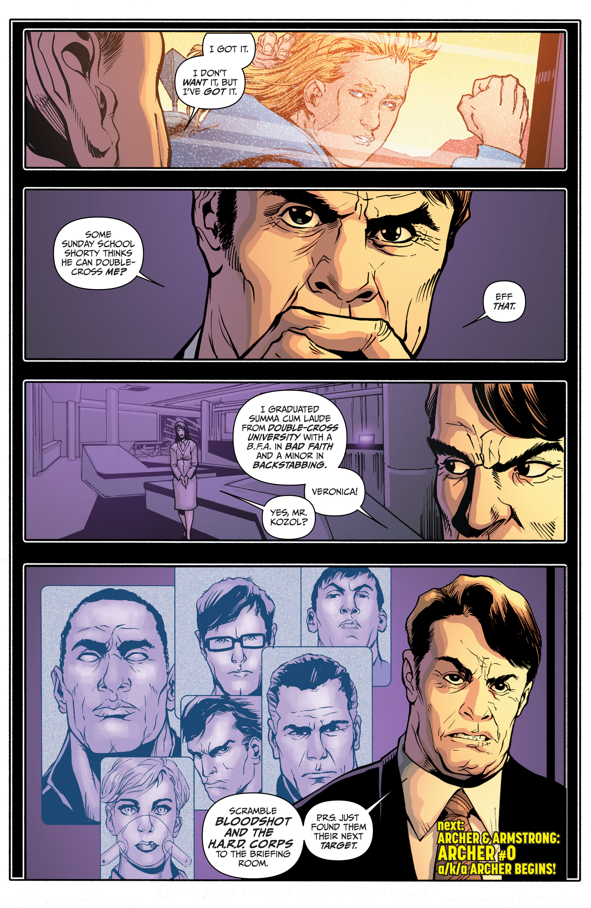 Read online Archer and Armstrong comic -  Issue #Archer and Armstrong _TPB 4 - 97