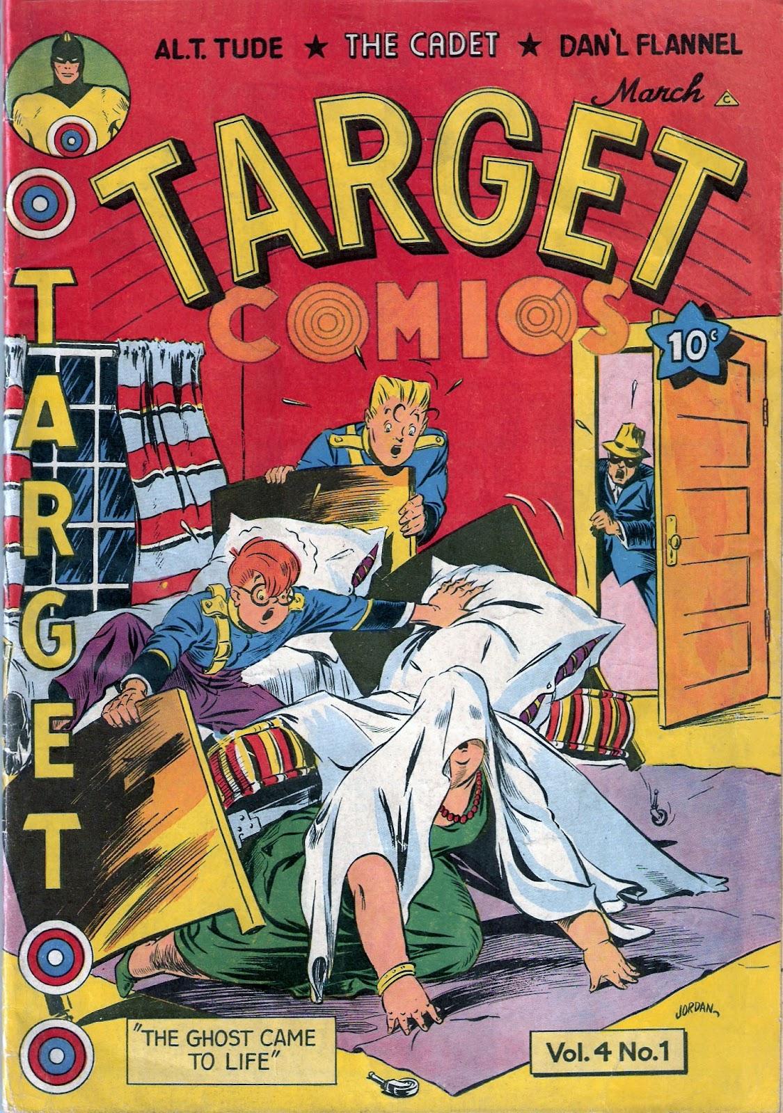 Target Comics 37 Page 1