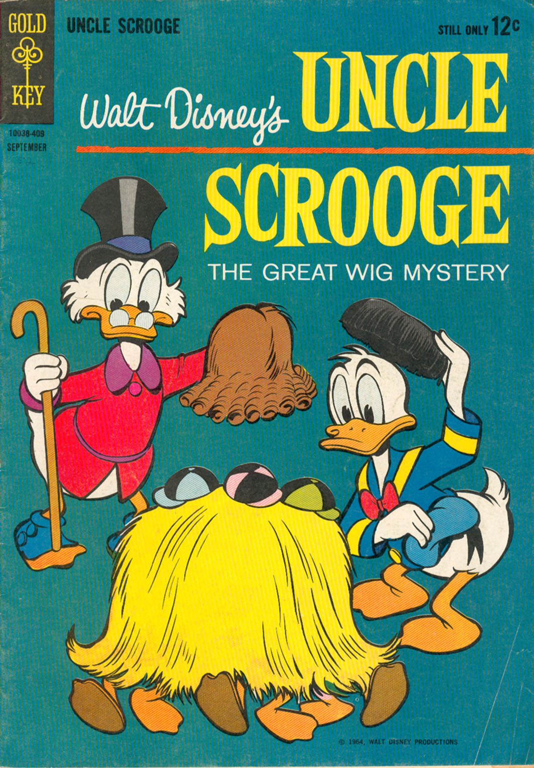Read online Uncle Scrooge (1953) comic -  Issue #52 - 1