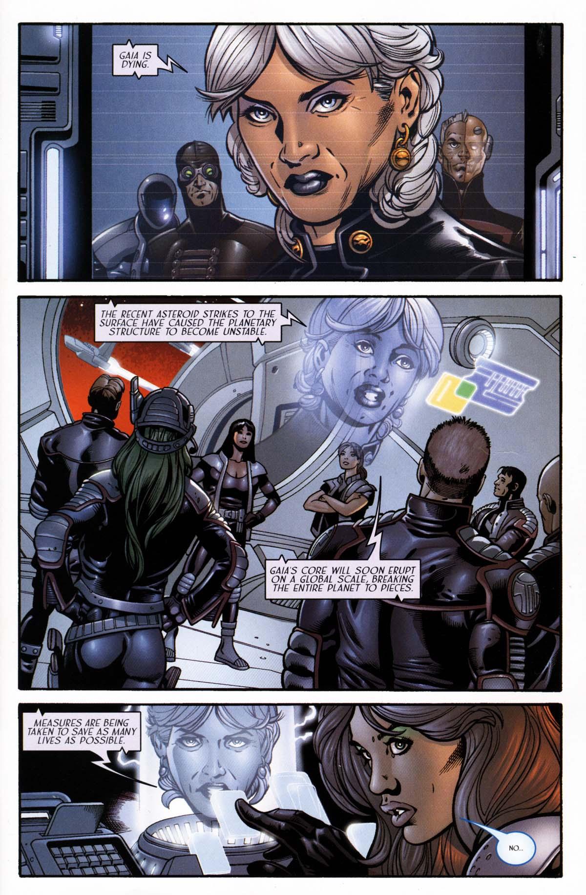 Read online Sigil (2000) comic -  Issue #26 - 3