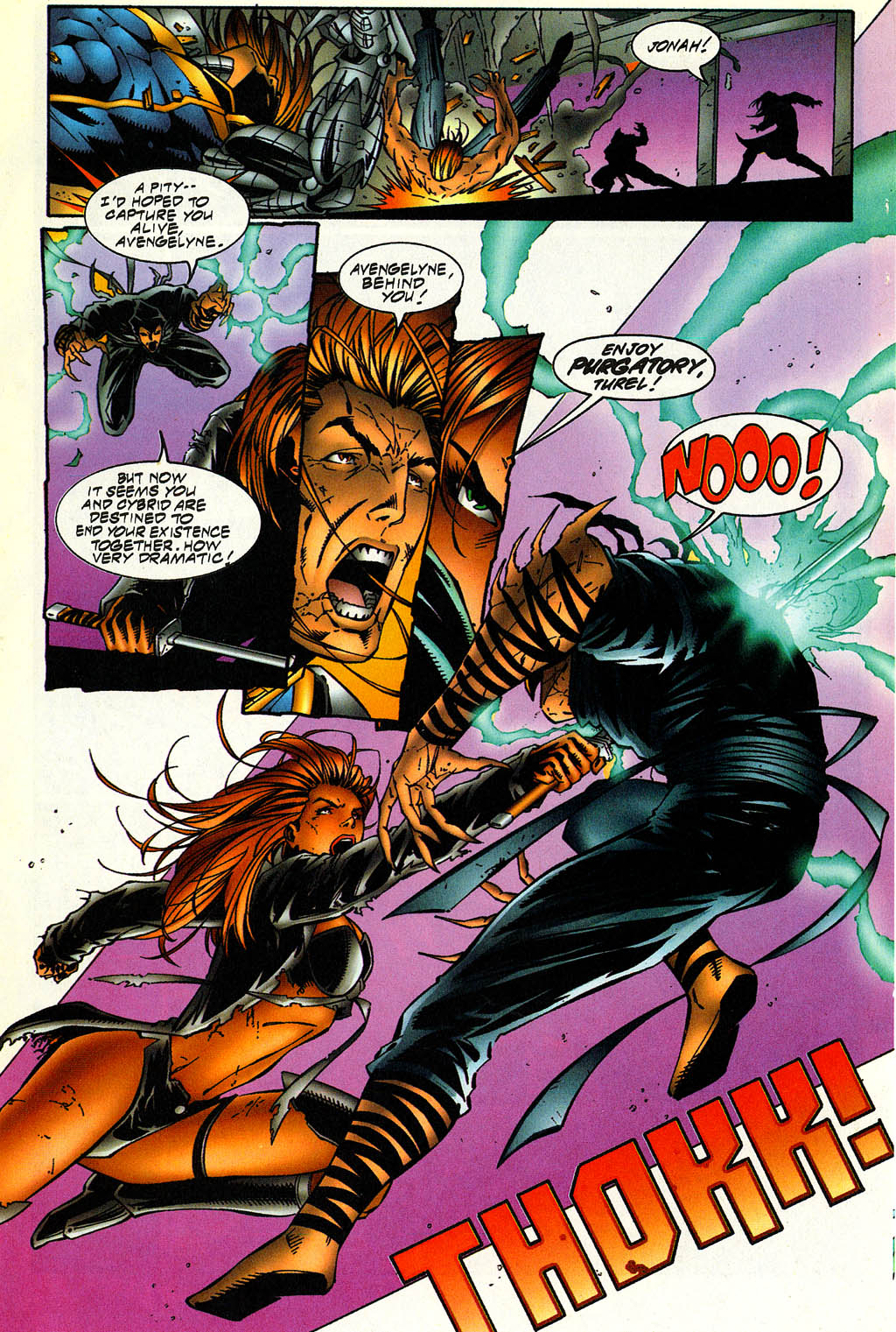 Read online Avengelyne (1996) comic -  Issue #5 - 21