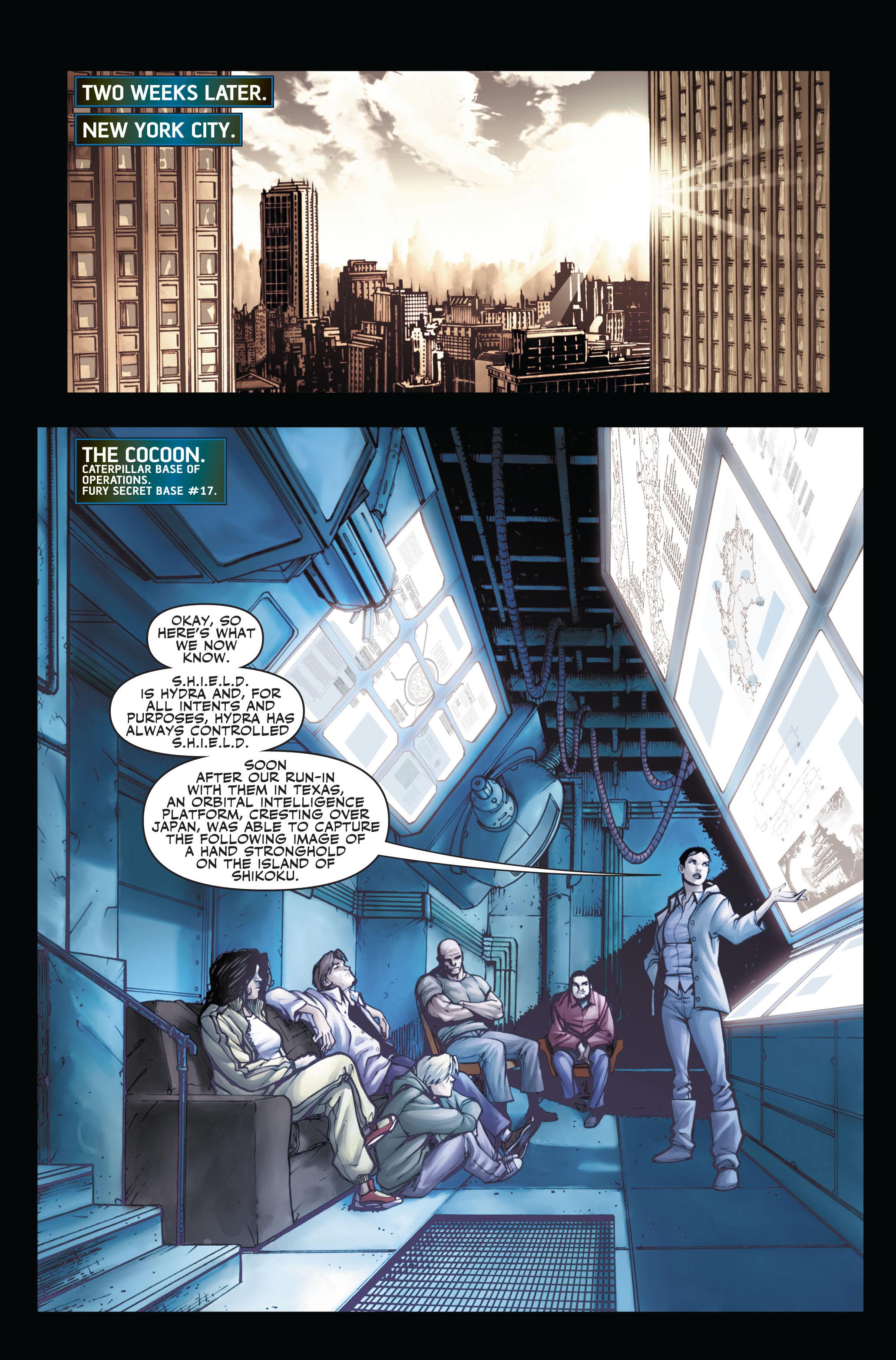 Read online Secret Warriors comic -  Issue #3 - 4