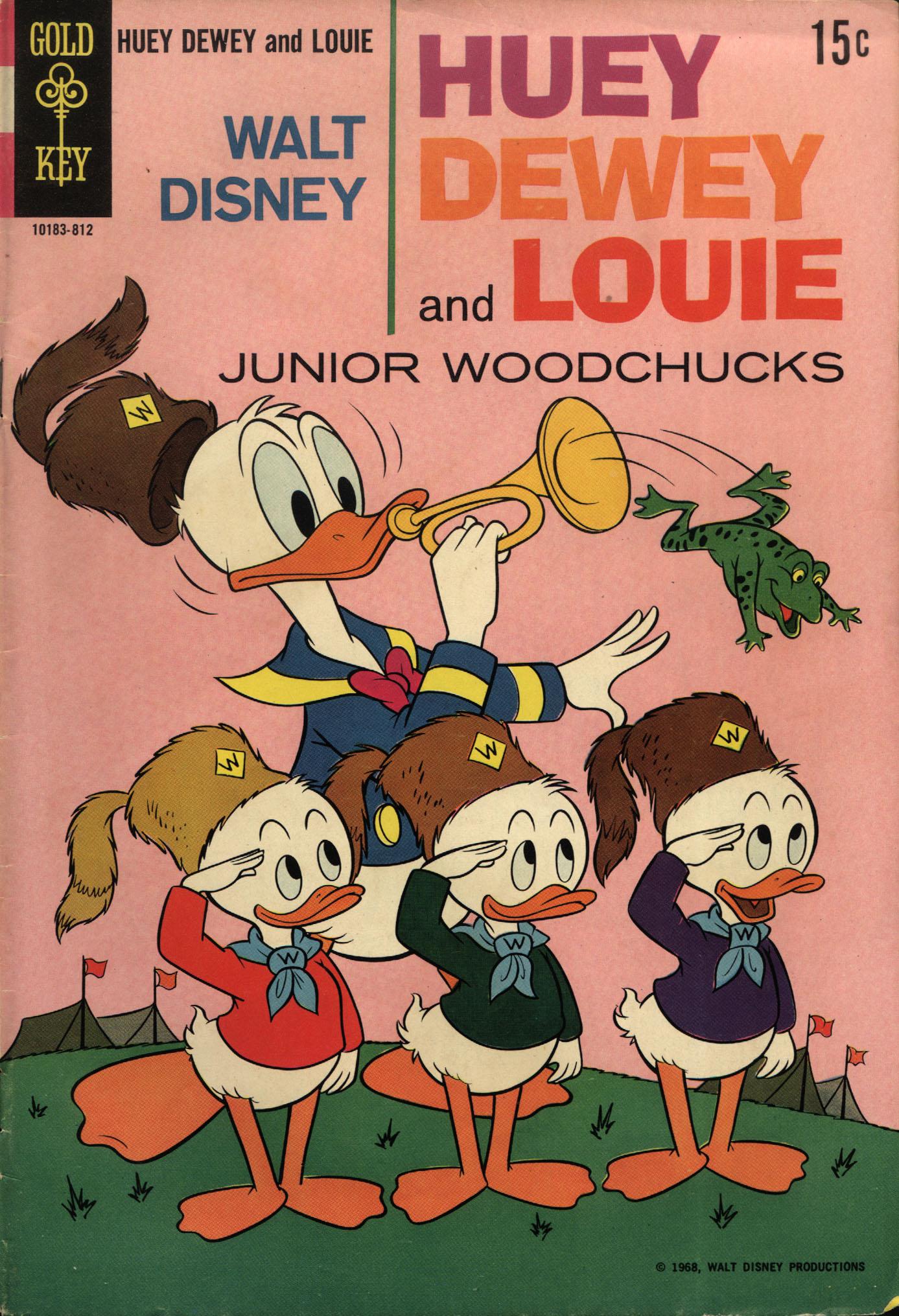 Huey, Dewey, and Louie Junior Woodchucks 3 Page 1
