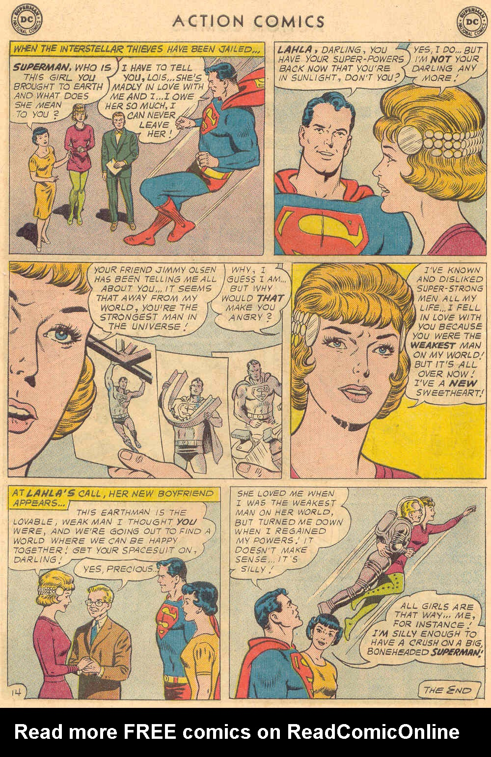 Read online Action Comics (1938) comic -  Issue #321 - 18