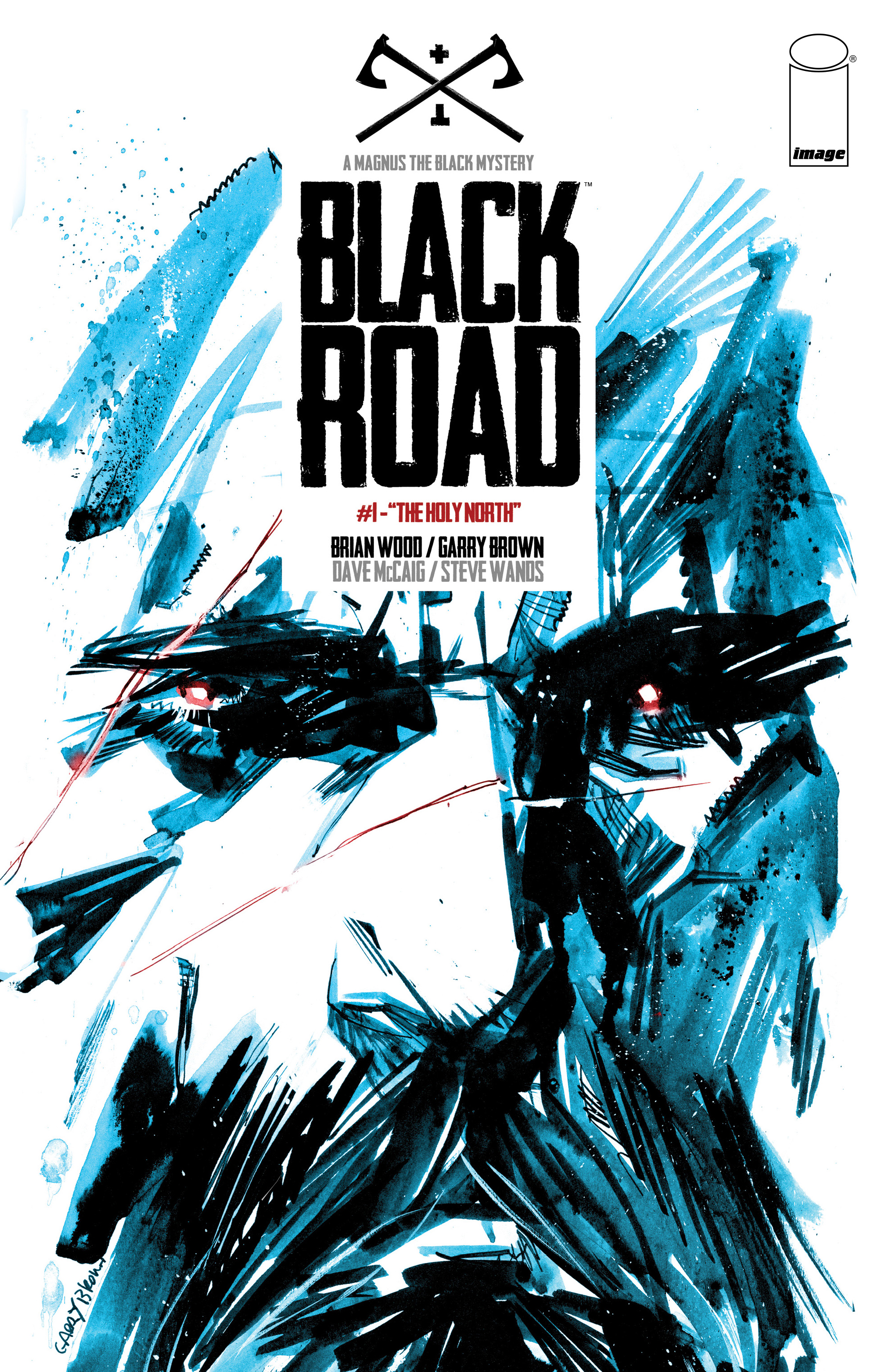 Black Road Issue 1 | Viewcomic reading comics online for