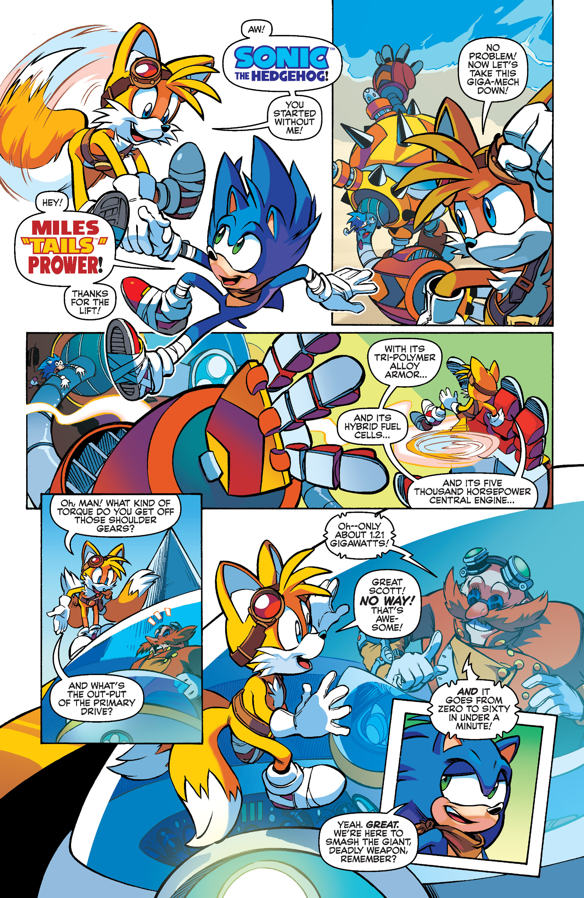 Read online Sonic Boom comic -  Issue #1 - 5