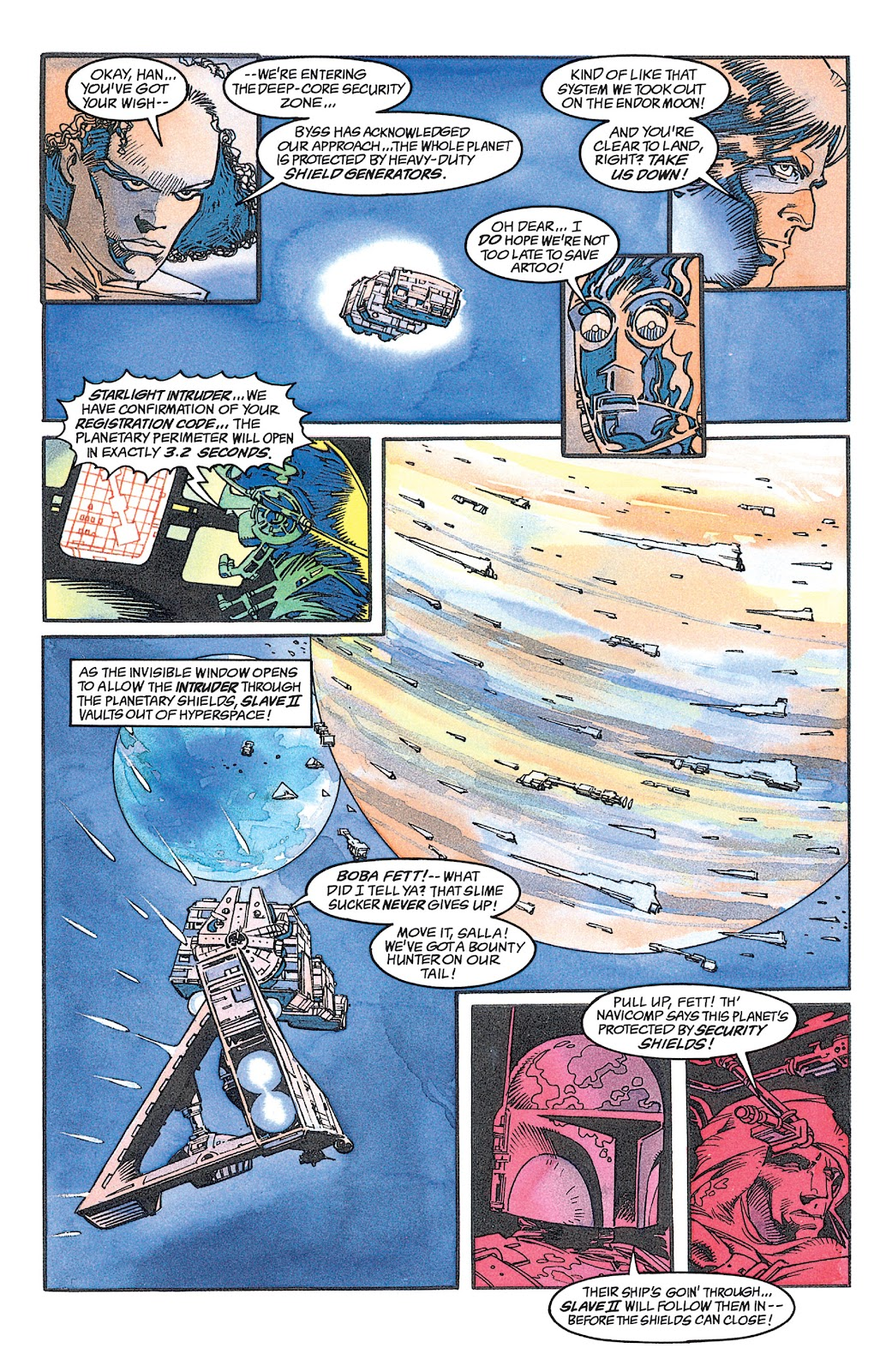Read online Star Wars: Dark Empire Trilogy comic -  Issue # TPB (Part 1) - 93