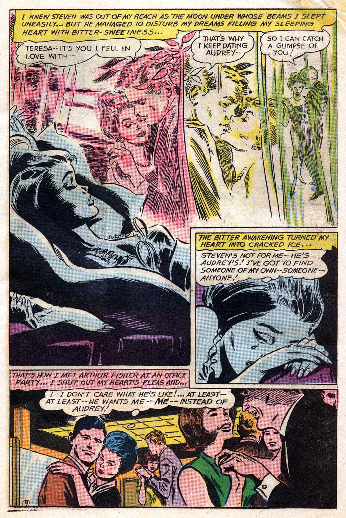 Read online Secret Hearts comic -  Issue #109 - 7