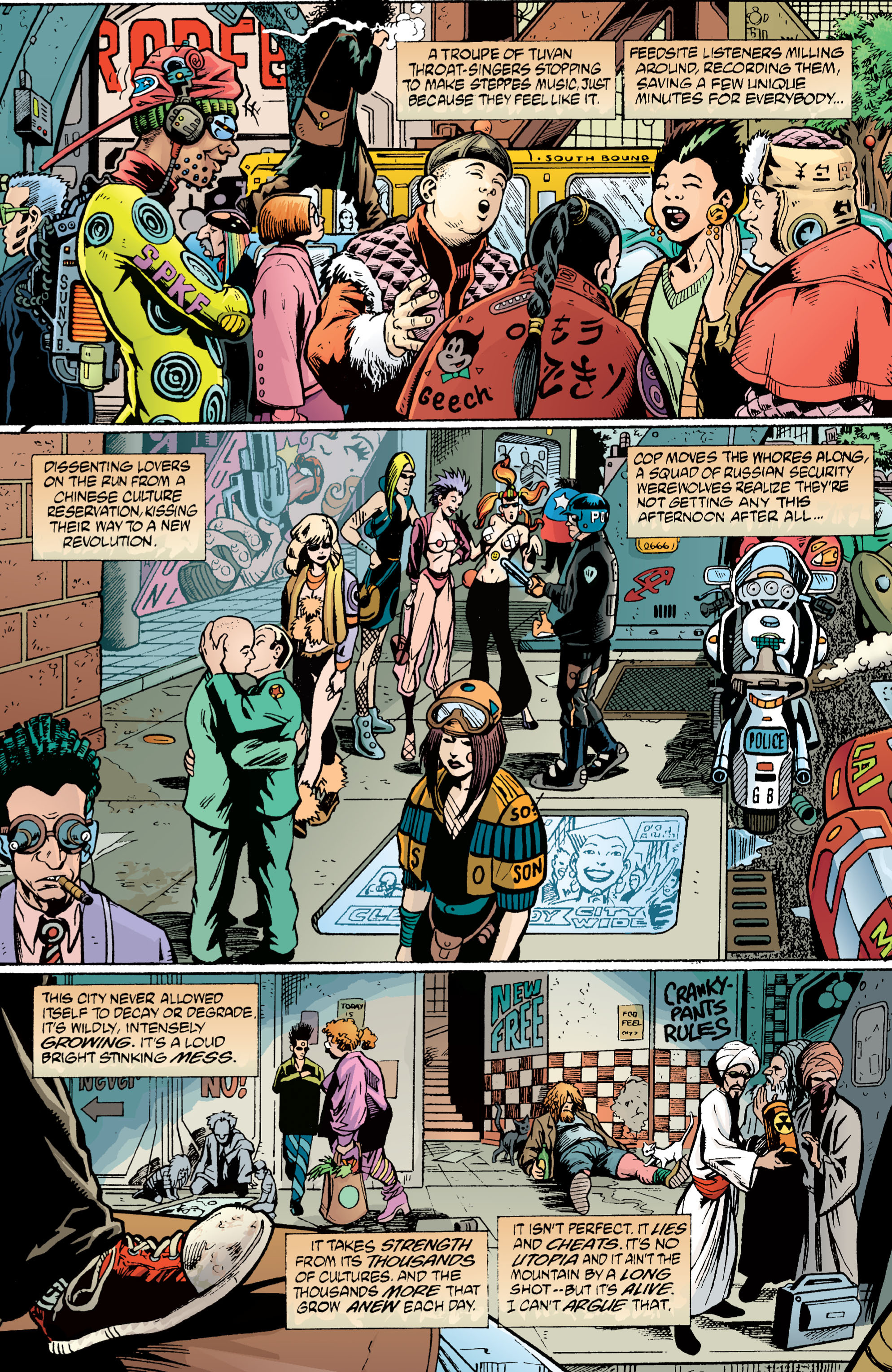 Read online Transmetropolitan comic -  Issue #1 - 15