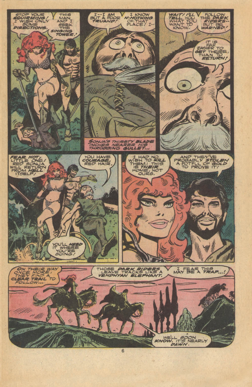 Red Sonja (1977) issue 5 - Page 5