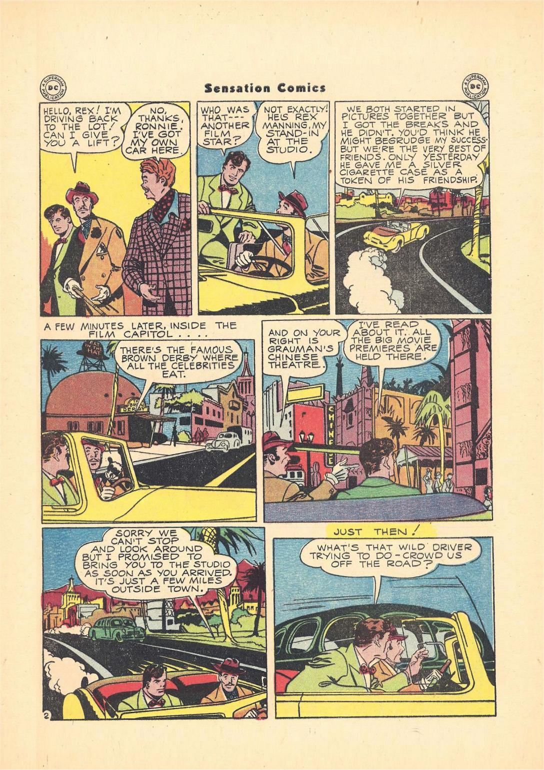 Read online Sensation (Mystery) Comics comic -  Issue #55 - 43