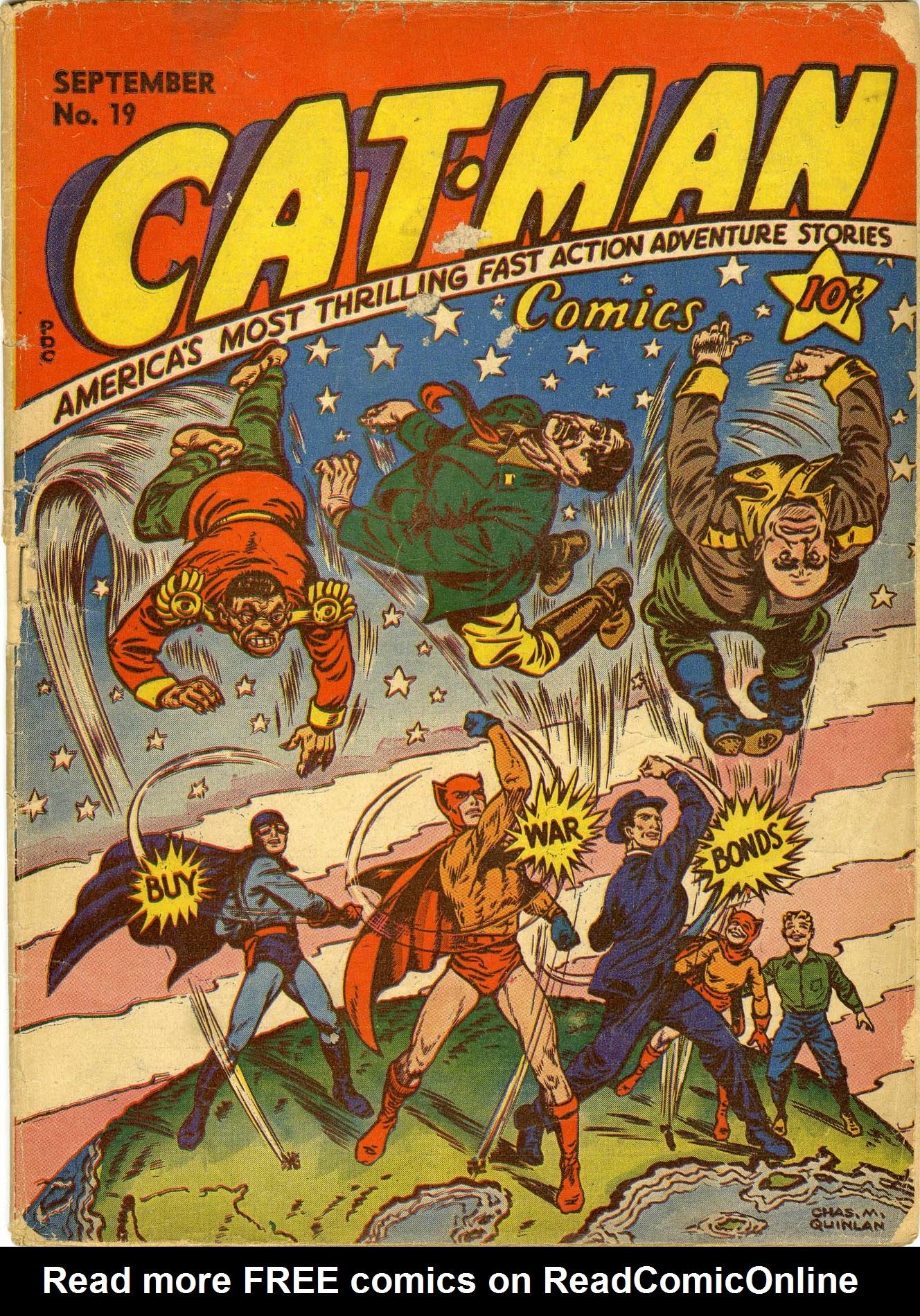Cat-Man Comics 19 Page 1