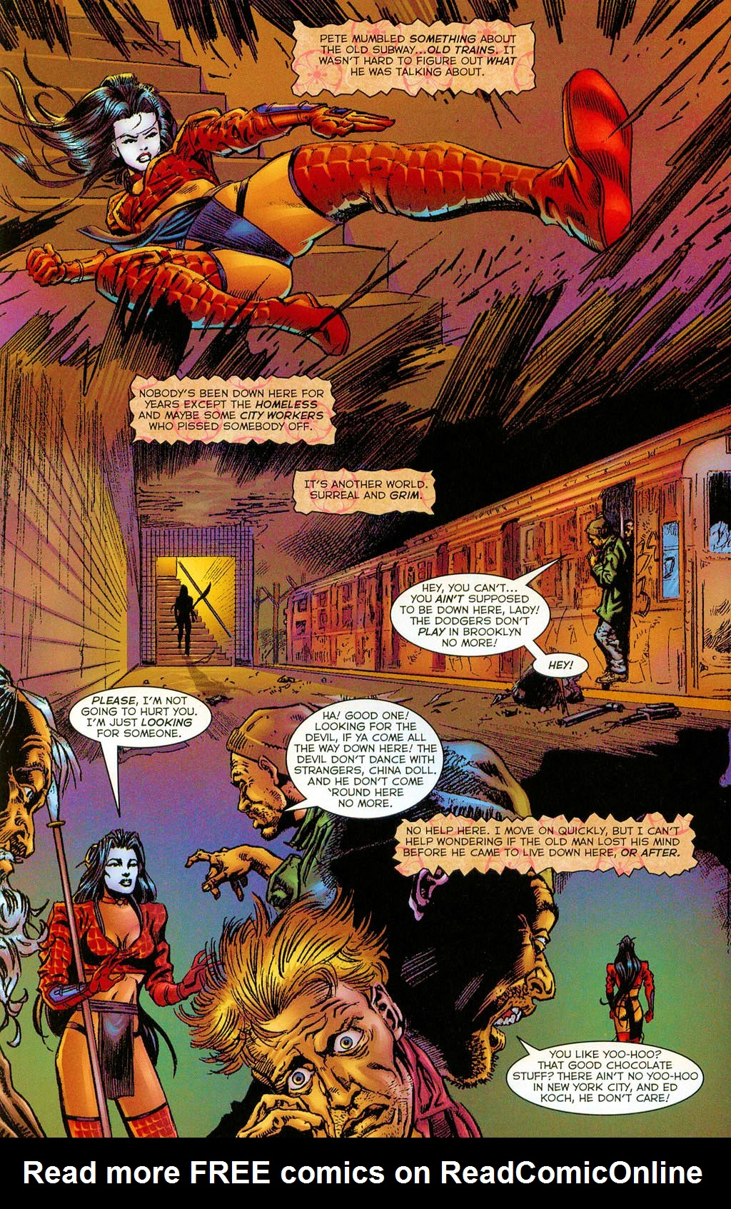 Read online Shi: The Series comic -  Issue #6 - 9