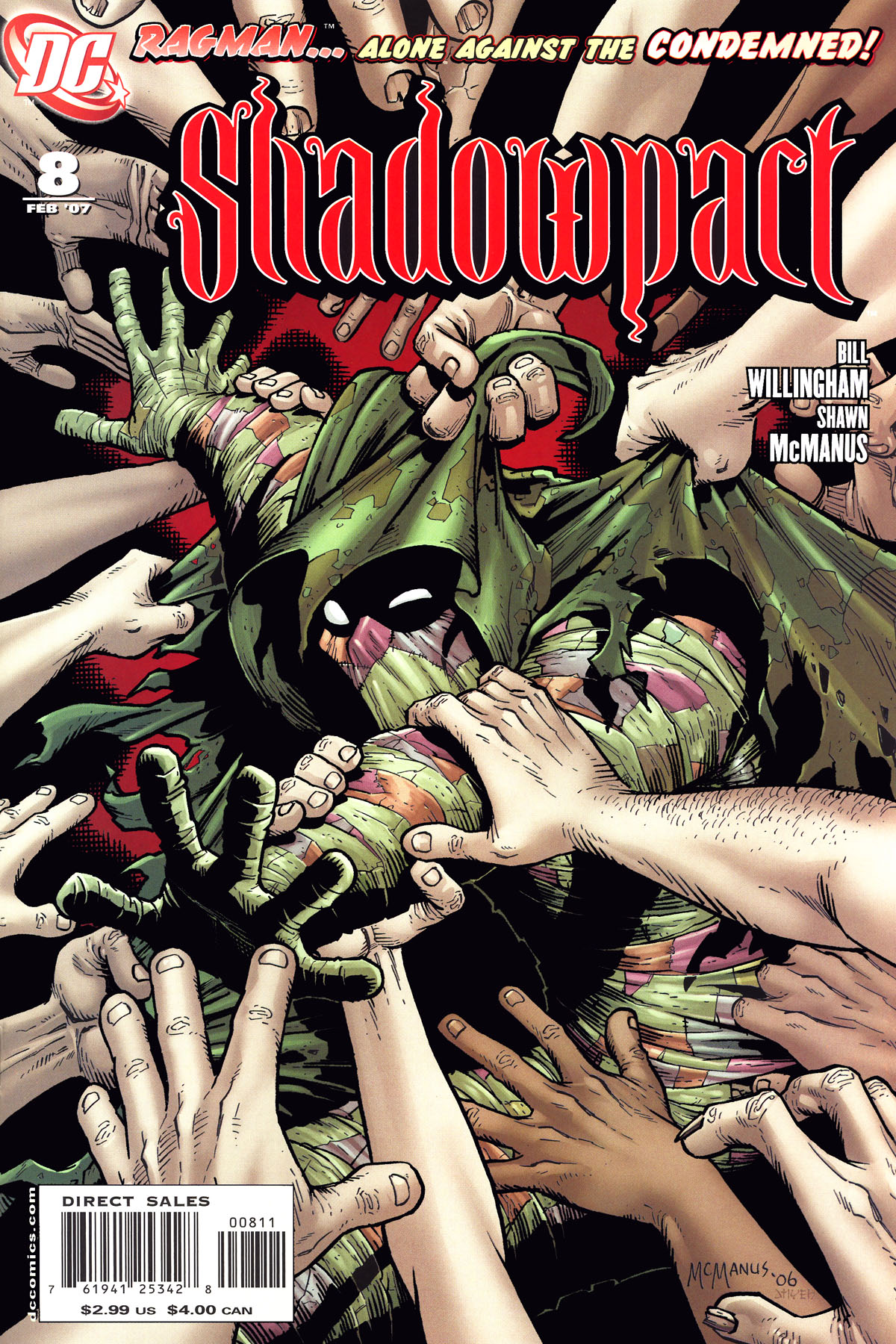 Read online Shadowpact comic -  Issue #8 - 1