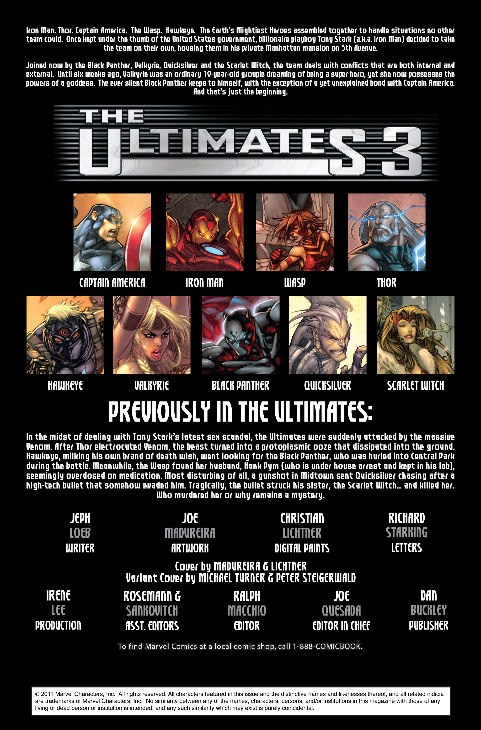 Read online Ultimates 3 comic -  Issue #2 - 2