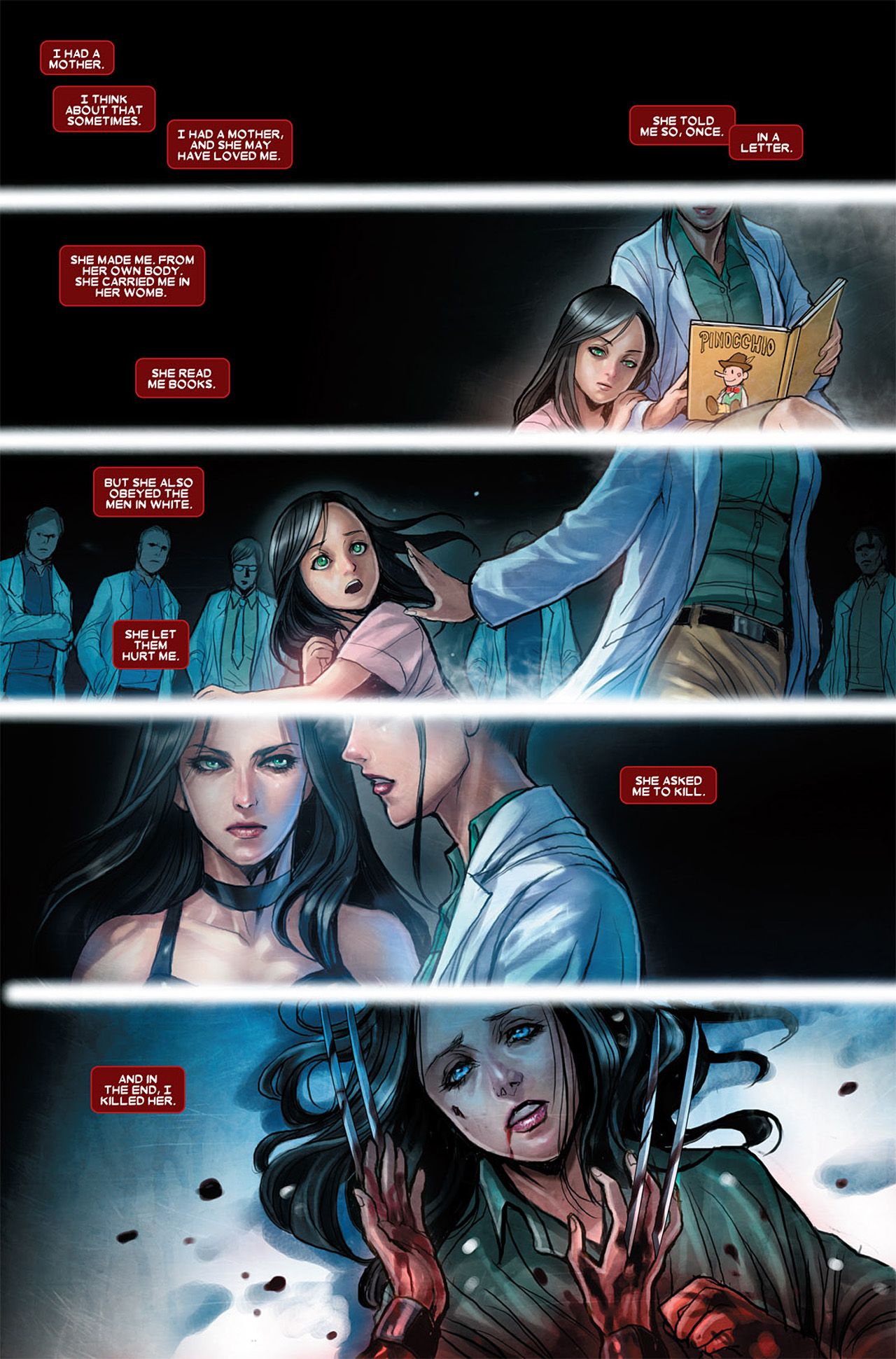 Read online X-23 (2010) comic -  Issue #3 - 3