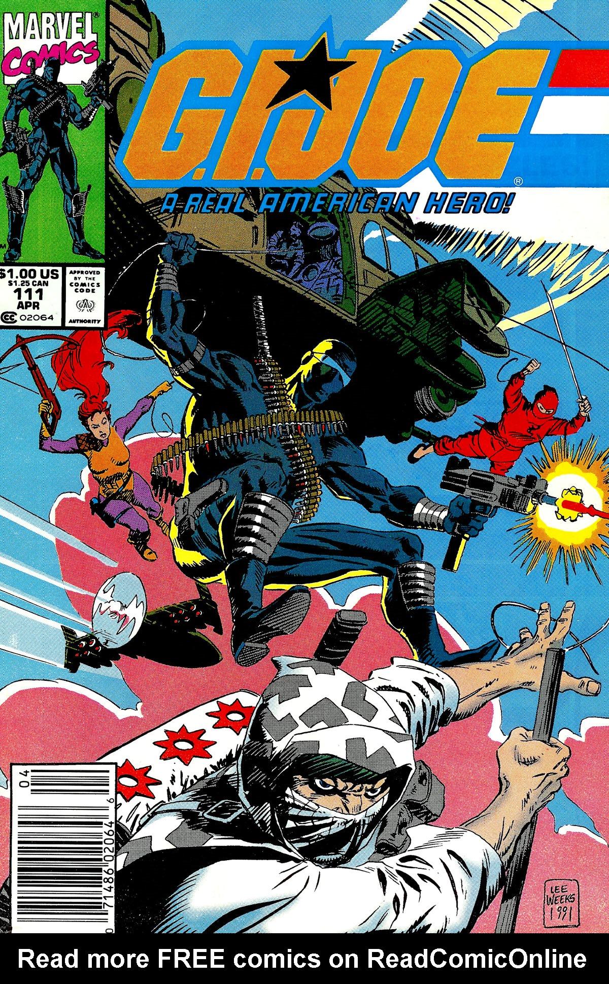 G.I. Joe: A Real American Hero 111 Page 1