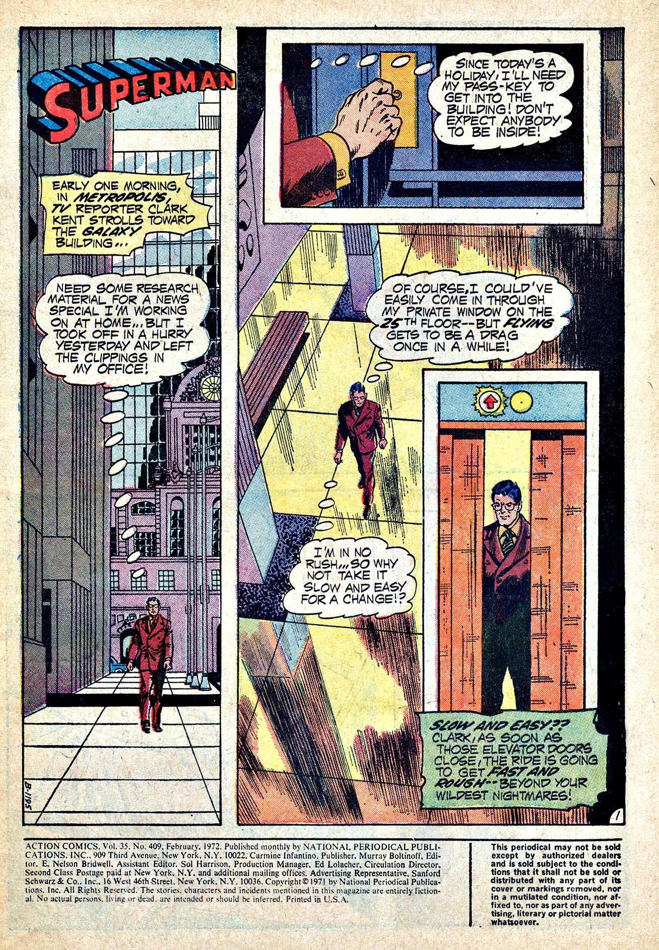 Action Comics (1938) 409 Page 2