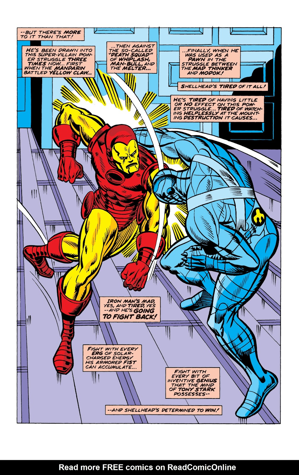 Read online Marvel Masterworks: The Invincible Iron Man comic -  Issue # TPB 10 (Part 2) - 65