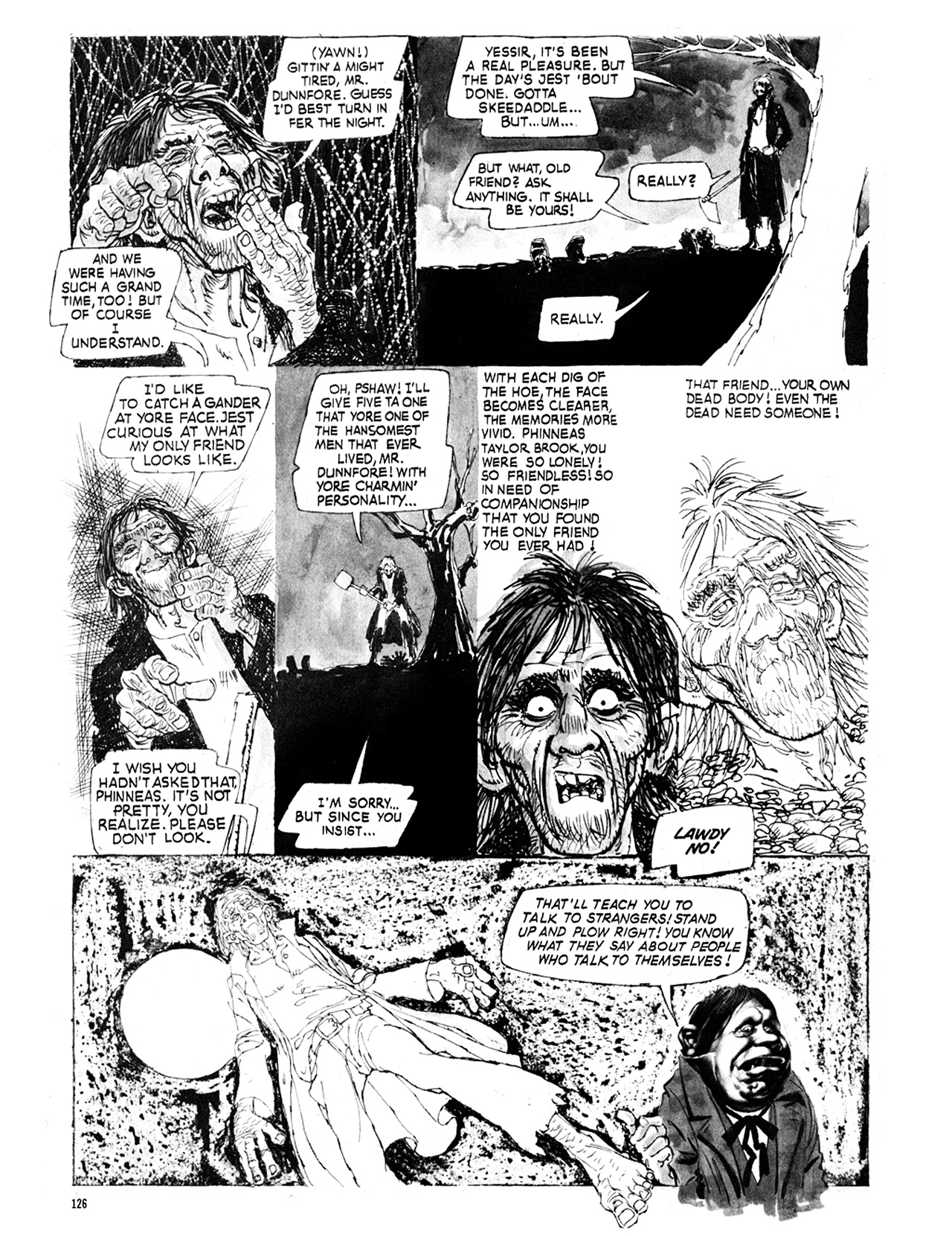 Read online Eerie Archives comic -  Issue # TPB 9 - 127