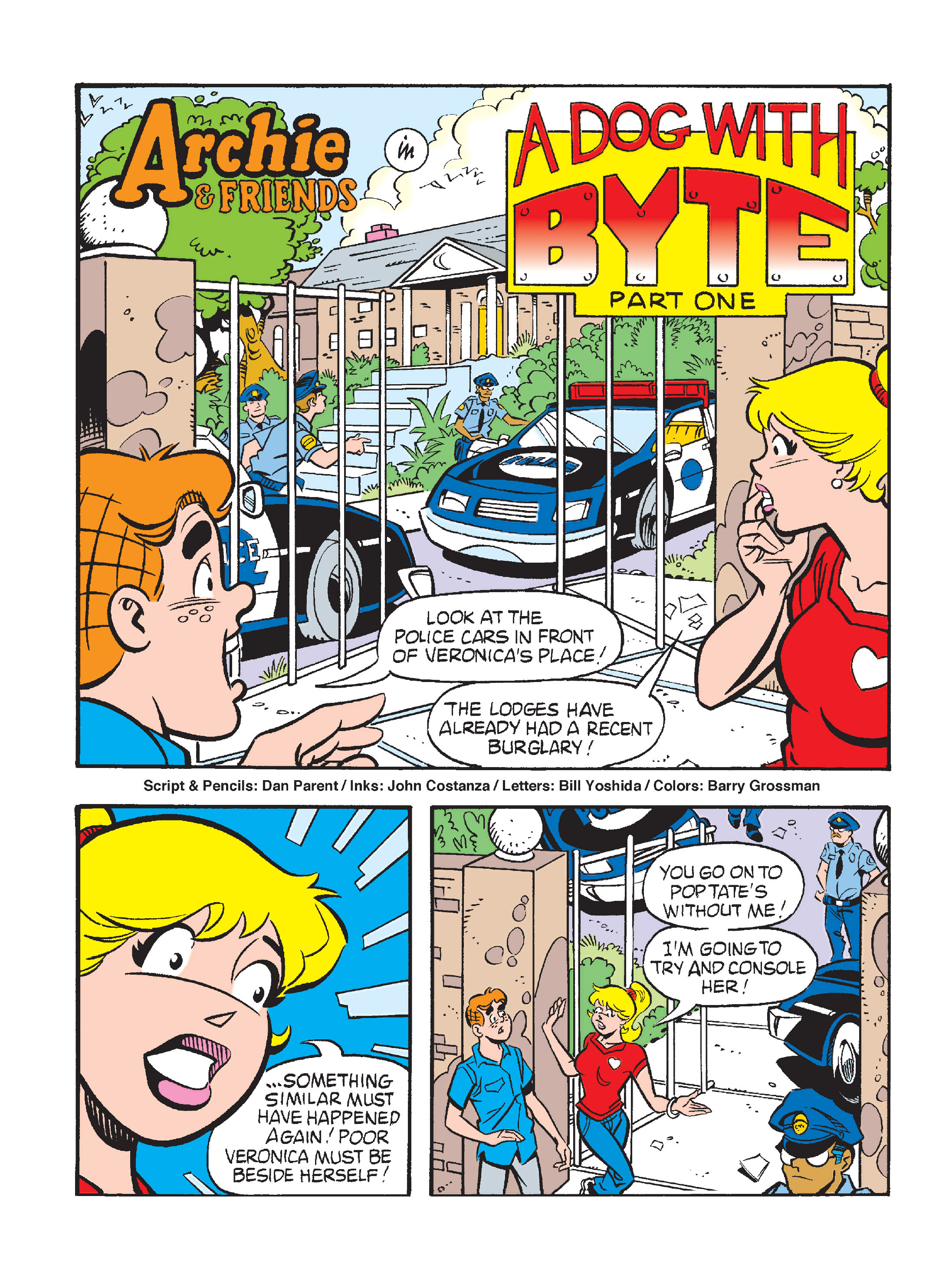 Read online Archie's Funhouse Double Digest comic -  Issue #15 - 216