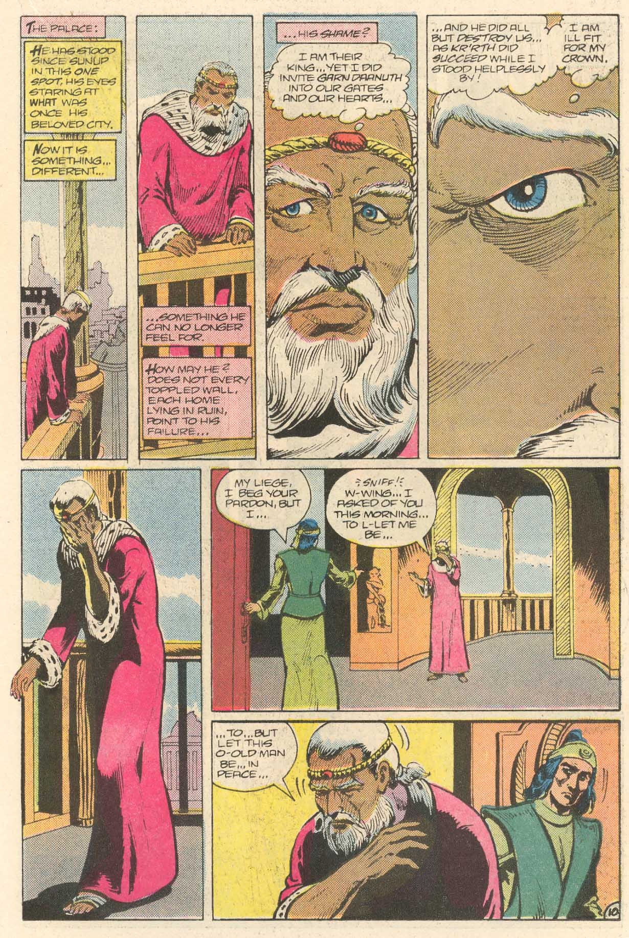 Read online Arion, Lord of Atlantis comic -  Issue #28 - 11