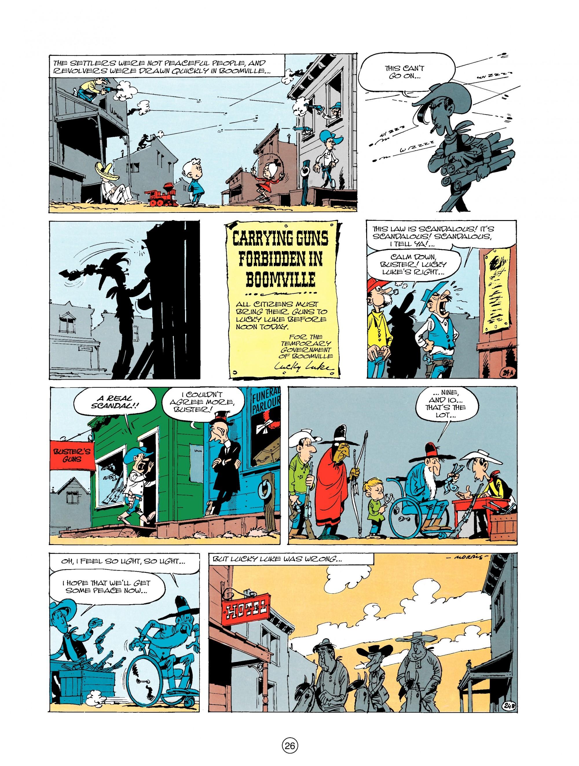 Read online A Lucky Luke Adventure comic -  Issue #20 - 26