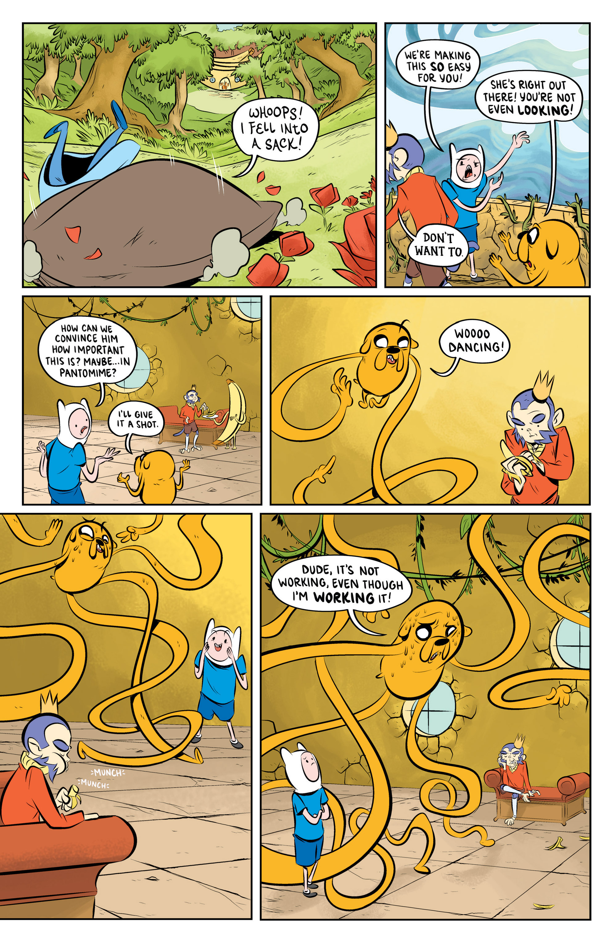 Read online Adventure Time: The Flip Side comic -  Issue #5 - 8